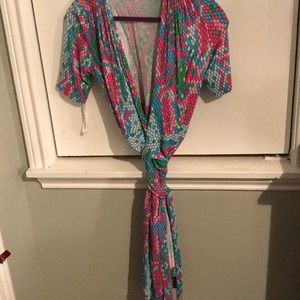 Lilly Pulitzer EUC wrap dress sz XS